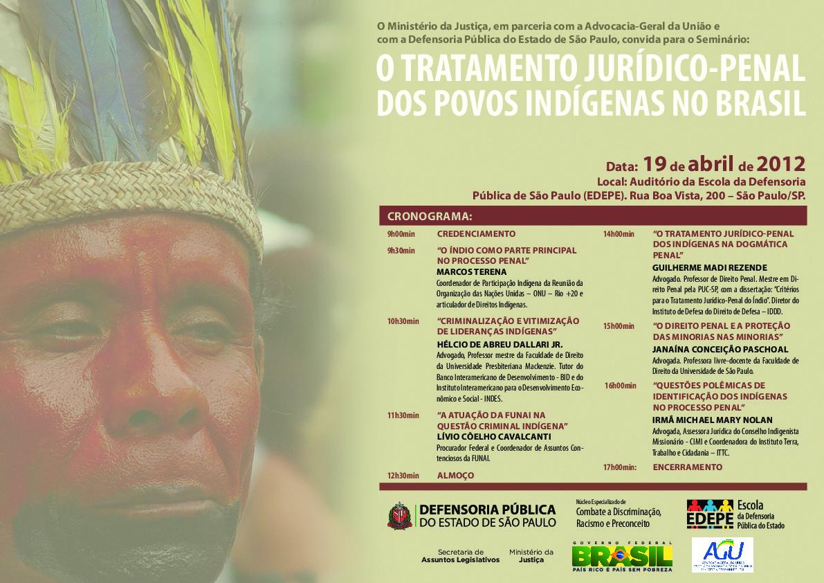 O tratamento jurídico-penal dos Povos Indígenas no Brasil