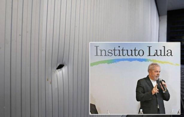 Atentado contra Instituto Lula acende alerta vermelho