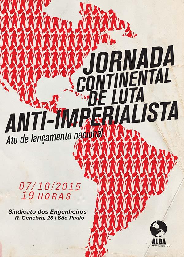 Lançamento – Jornada Continental de Luta Anti-Imperalista