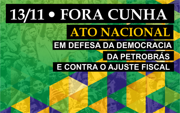Frente Brasil Popular vai às ruas nesta sexta (13)