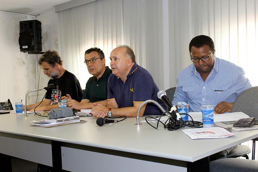 SASP debate Crise política no Brasil