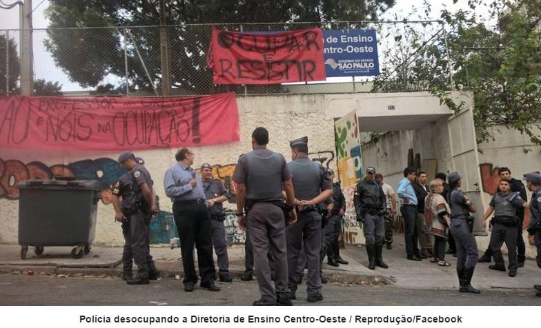 DENÚNCIA PRISÕES ILEGAIS EM MASSA DE SECUNDARISTAS NA MANHÃ DE SEXTA, DIA 13 DE MAIO