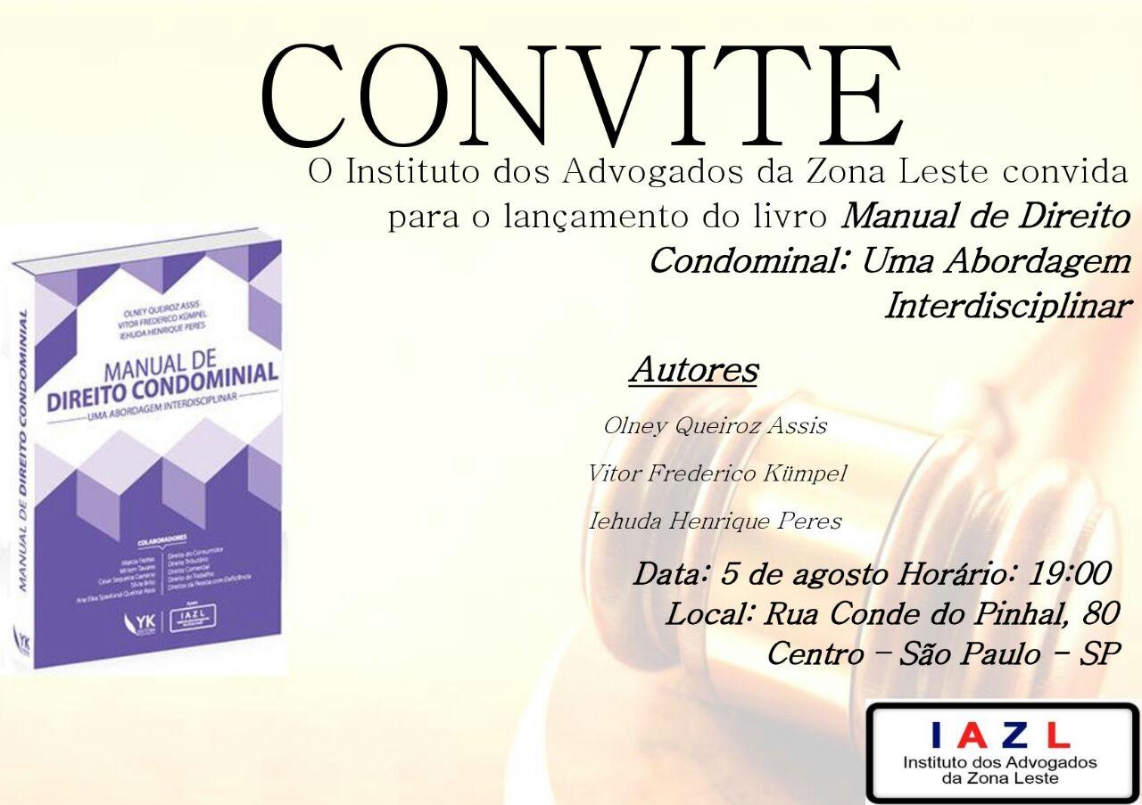 Advogado lança Manual de Direito Constitucional