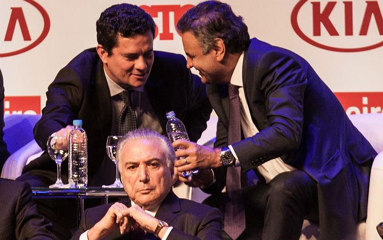 Sergio moro Aécio Neves