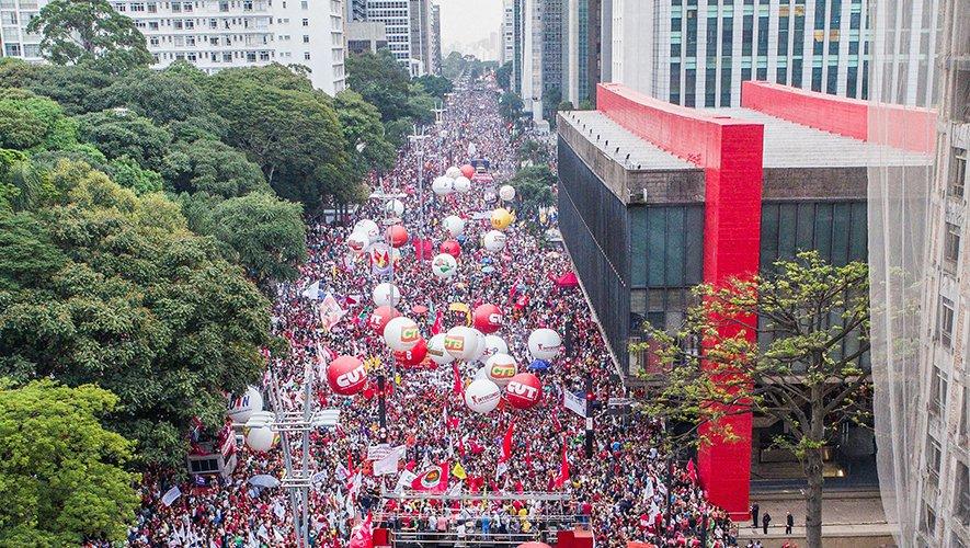 Ato na Paulista fecha dia de mobilização em São Paulo