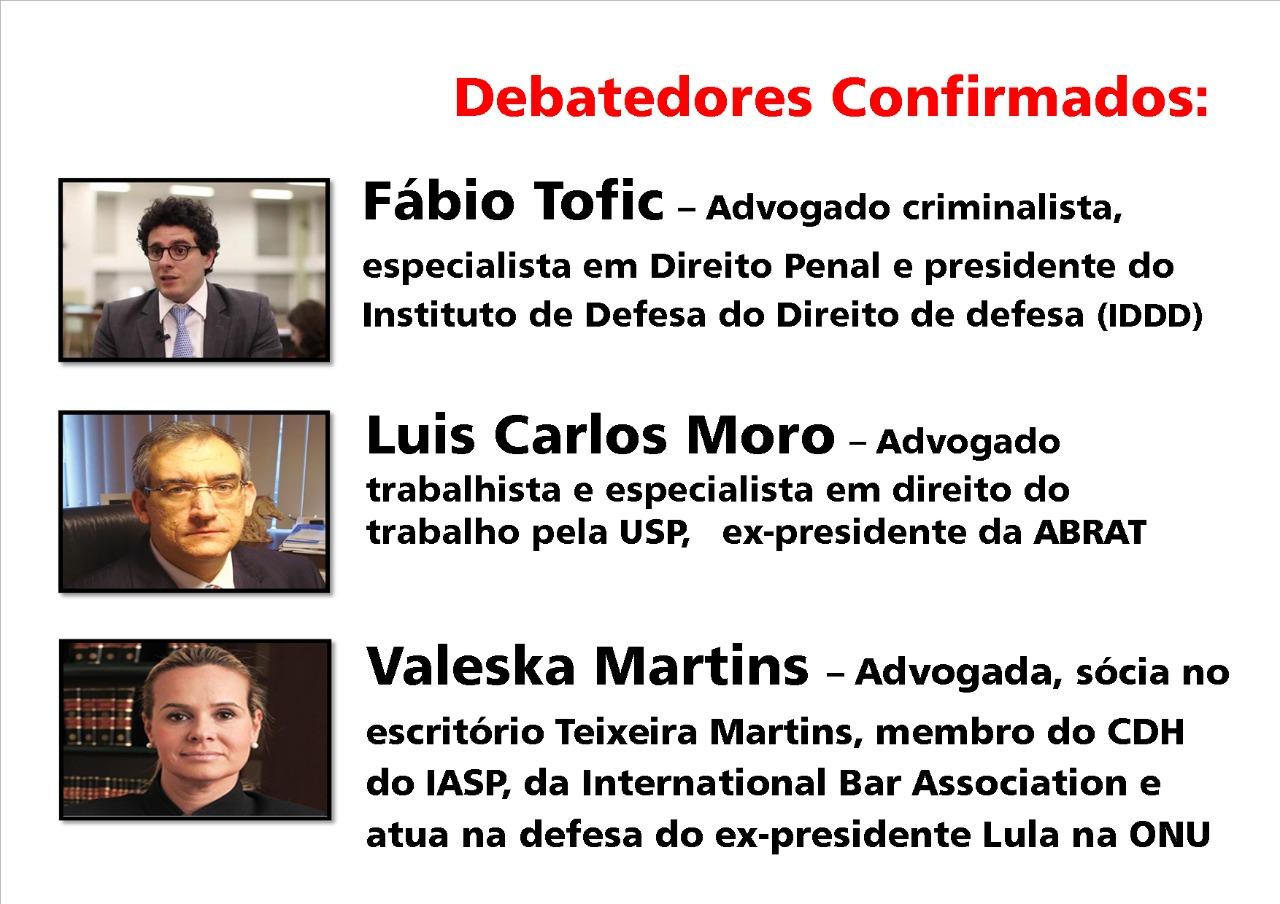 debatedores -Prerrogativas dos Adv