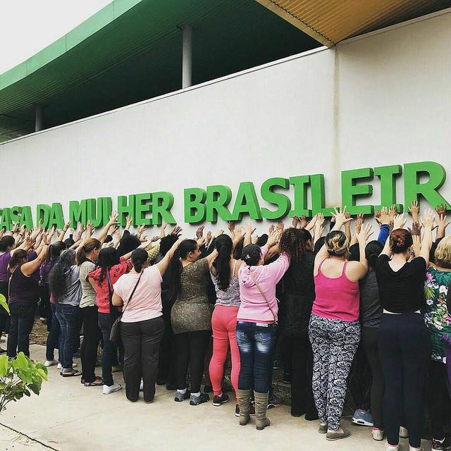Movimentos de mulheres fazem inauguração popular de Casa da Mulher Brasileira em SP