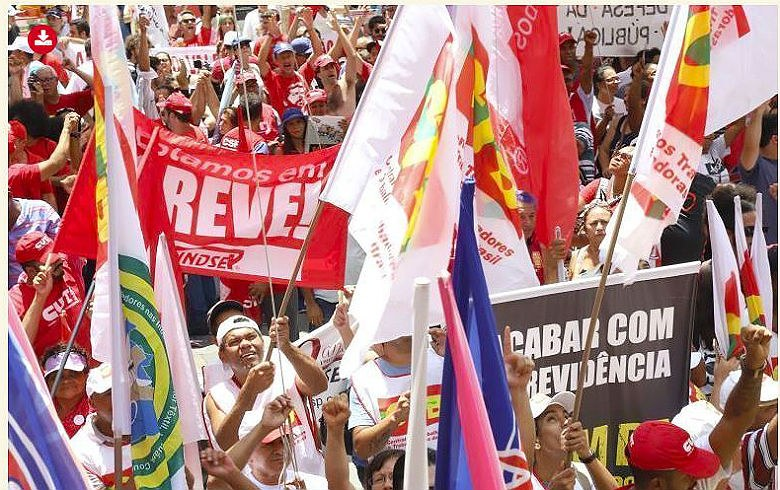 Trabalhadores vão às ruas nesta sexta dizer não à 'reforma' da Previdência