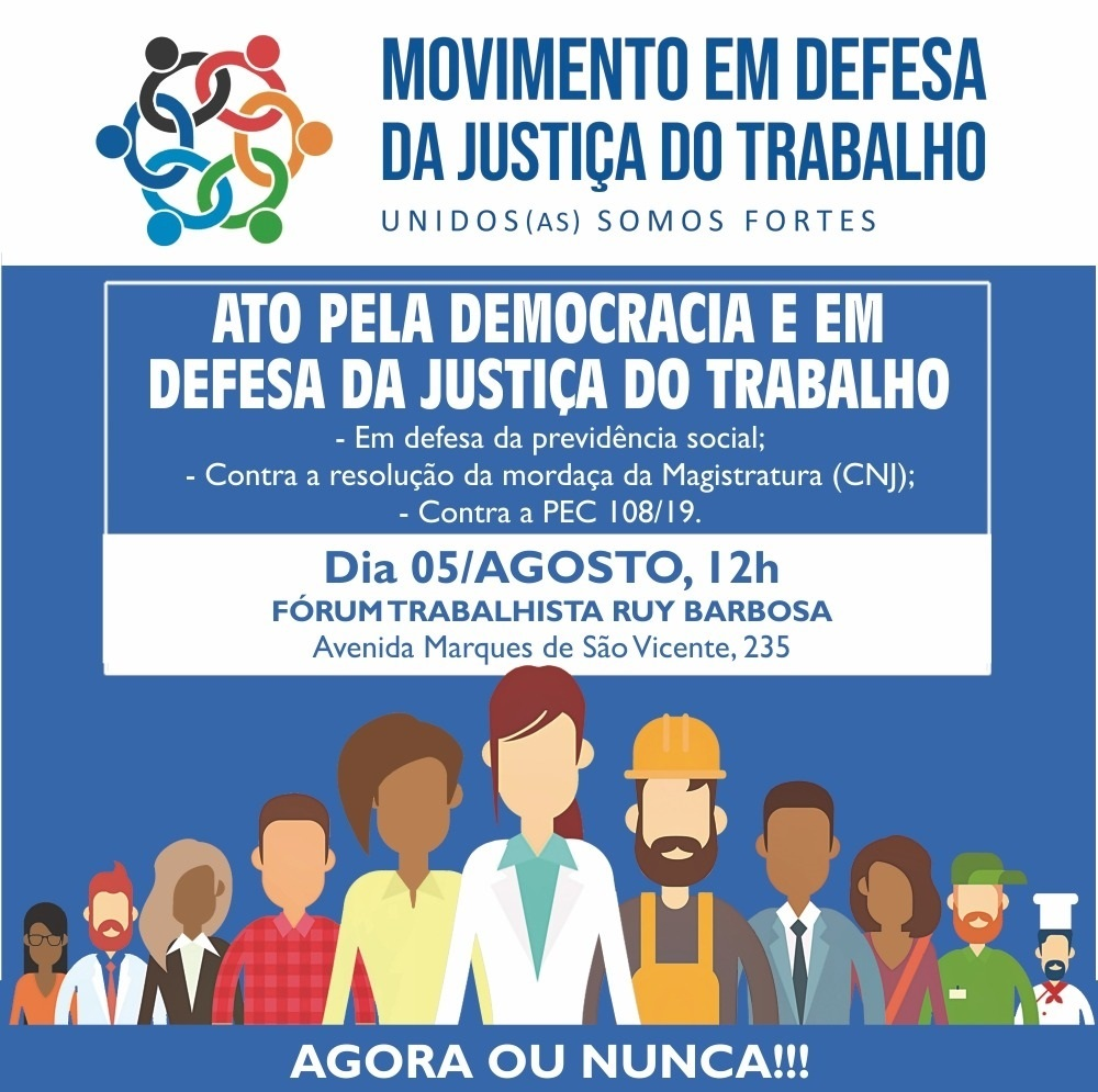 MOVIMENTO JUSTIÇA TRABALHO