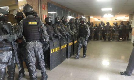 Nota de repudio a ação criminosa da Polícia Militar na alesp