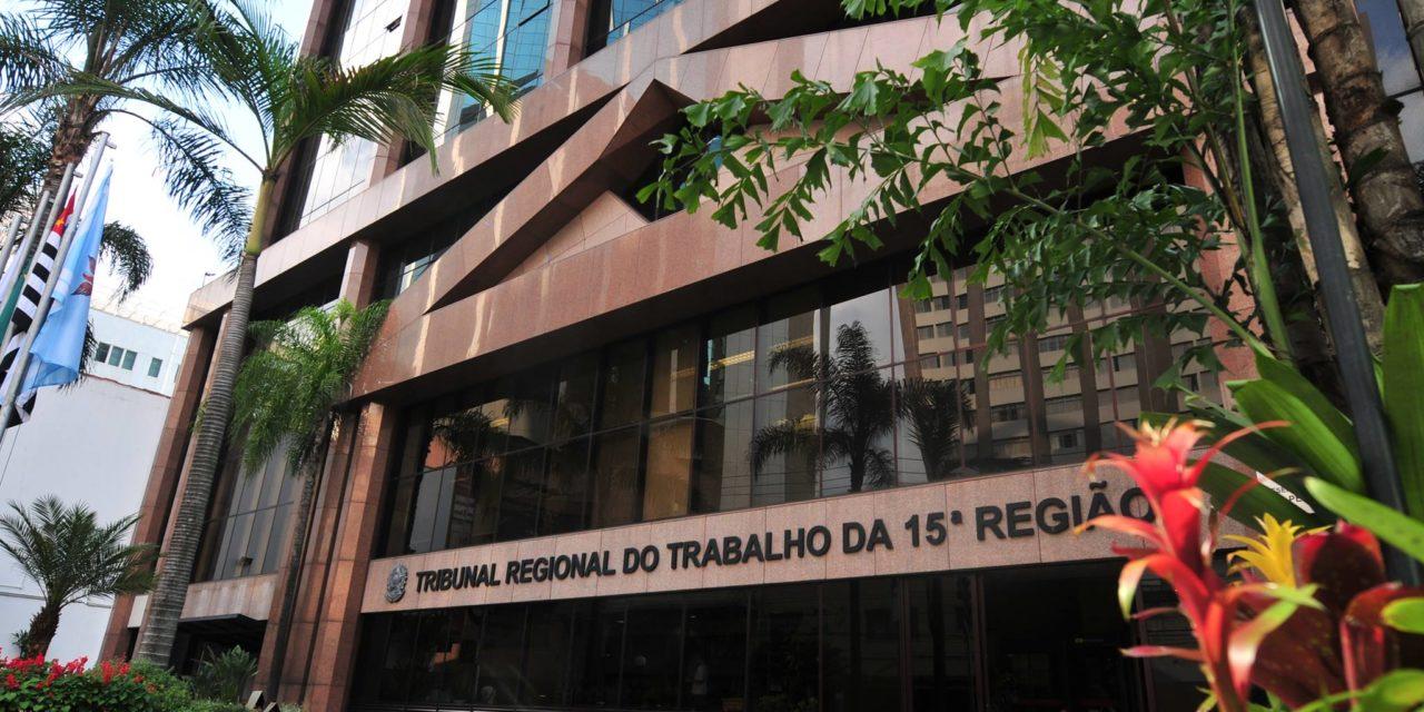 SASP envia ofício ao TRT 15° Região