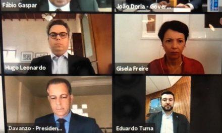 SASP e OAB/SP participam de ato em defesa da democracia