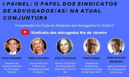 Fábio Gaspar participa de live sobre o dia do Advogado