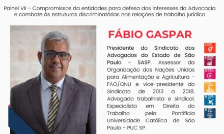Presidente do SASP participa de congresso interestadual sobre advocacia assalariada