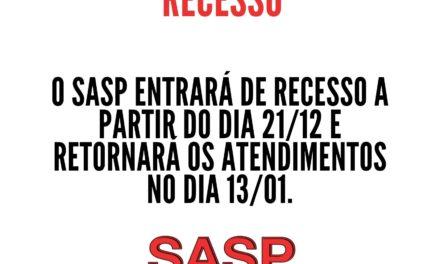 Recesso SASP