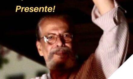 NOTA DE PESAR: Alípio Freire