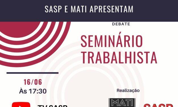 Live: Seminário Trabalhista