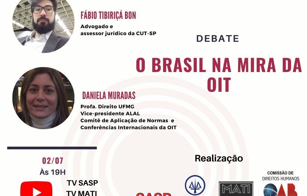 O Brasil na mira da OIT