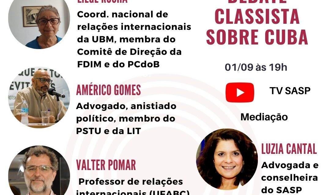 Live: Debate classista sobre Cuba